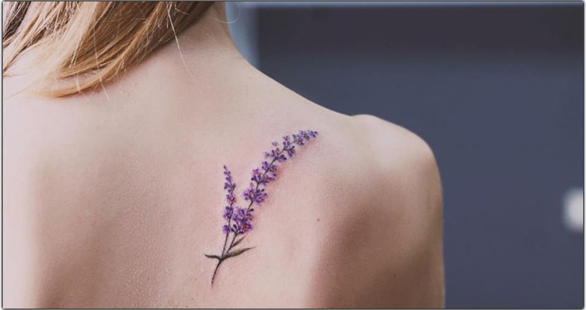 Lavender Tattoo Ideas In 2021 – Meanings, Designs, And More