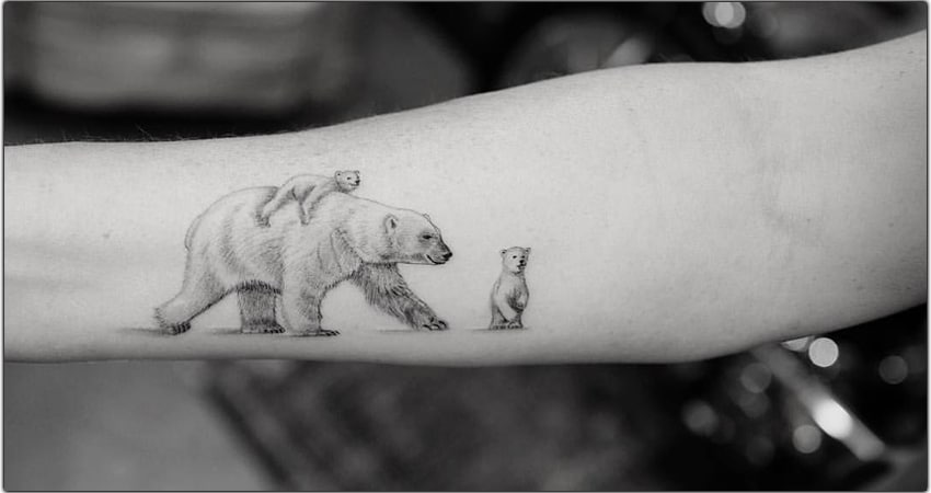 Top 66 Polar Bear Tattoo Ideas In 2021 [Symbolism, Meanings, And More]