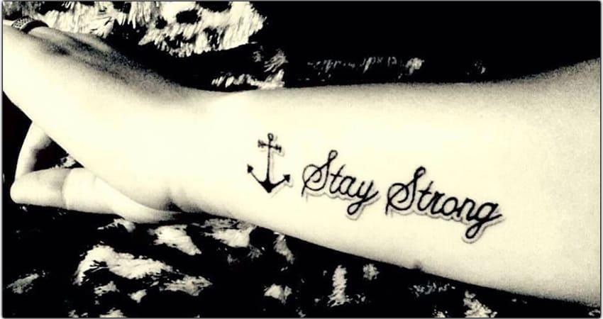 Stay Strong Tattoo Ideas In 2021 – Meanings, Designs, And More