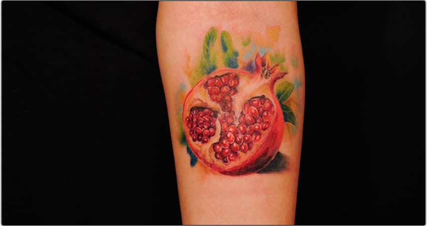 126+ Pomegranate Tattoo Ideas In 2021 – Meanings, Designs, And More