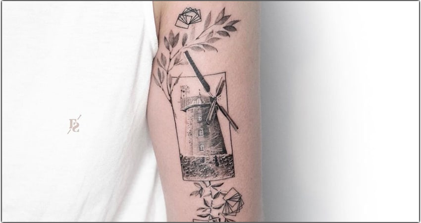 73+ Windmill Tattoo Ideas In 2021 – Meanings, Designs, And More