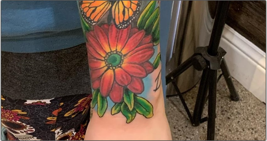 10 African Daisy Tattoo Ideas in 2021-Meanings,Designs,And More