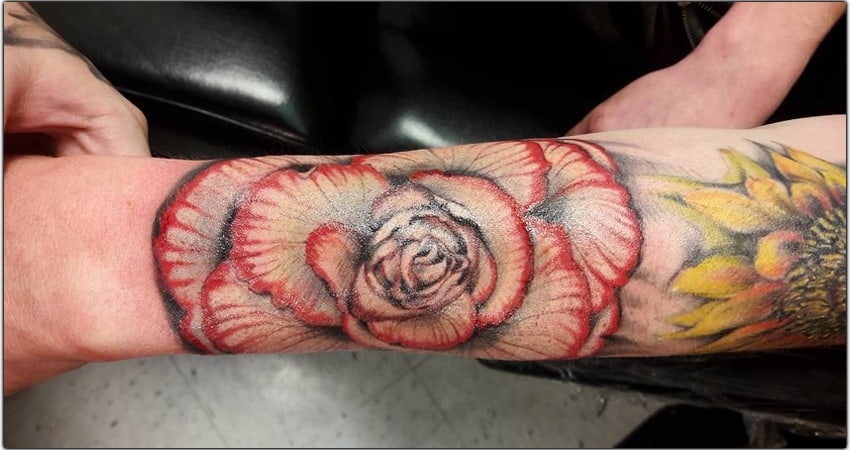 35 Begonia Tattoo Ideas in 2021-Meanings,Designs,And More